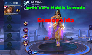 Tanggal Rilis Hero Esmeralda ke Server Ori atau Global Mobile Legends