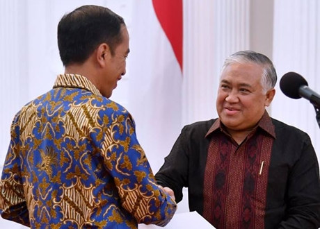 Presiden Jokowi Angkat Din Syamsuddin Sebagai Utusan Khusus Dialog dan Kerja Sama Antar Agama