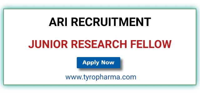 ARI Recruitment 2019, Agharkar Research Institute, Junior Research Fellow, JRF, M. Pharm, M. Sc, Pune, Research Job
