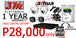 CCTV PACKAGE PHILIPPINES 1 ALHUA dome camera bullet camera 3m electronix cebu philippines