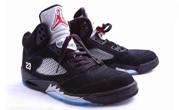 4dd19fc2774 Air Jordan 5. Black/Varsity Red-Metallic Silver 136027-010. August 2011 $150