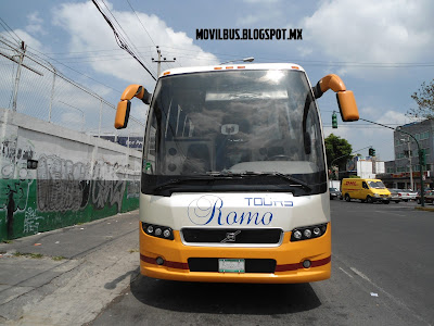 volvo 9700 select de romo tours