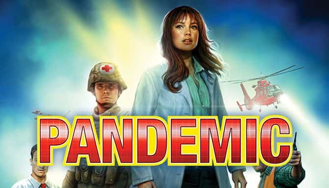PANDEMIC THE BOARD GAME-DARKSIDERS