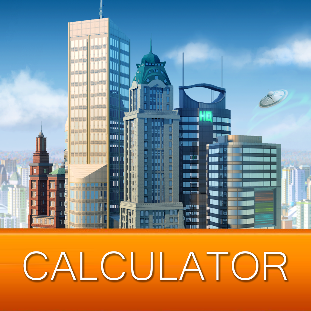 Calculator App for SimCity Buildit Now Available on iOS