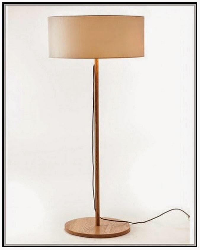 Wooden floor lamp base | Lamps Image Gallery