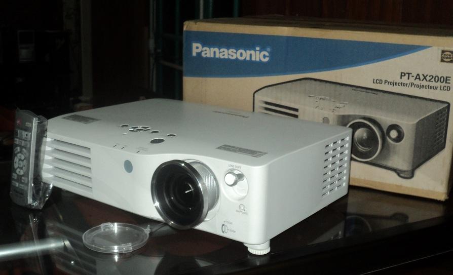 proyektor hd panasonic pt ax200e lampu minim jual beli laptop second dan kamera bekas di malang. Black Bedroom Furniture Sets. Home Design Ideas