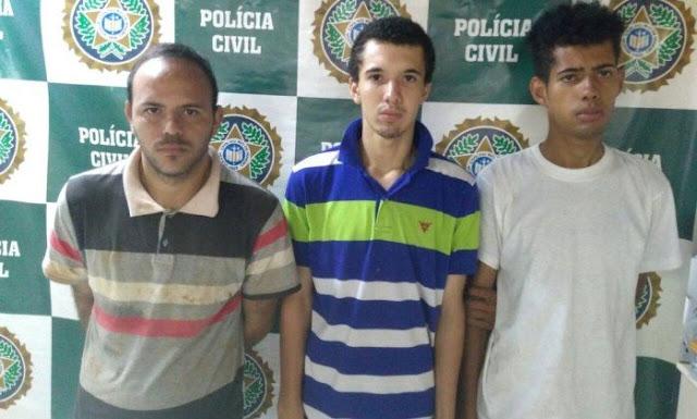 Três vagabundos são detidos por queimar comerciante vivo para assaltá-lo