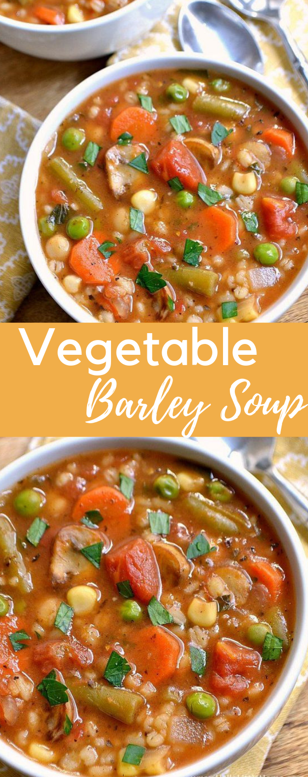 Vegetable Barley Soup #eathealthy #familyfood