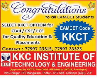 KKC INSTITUTE OF TECHNOLOGY &ENGINEERING PUTTUR