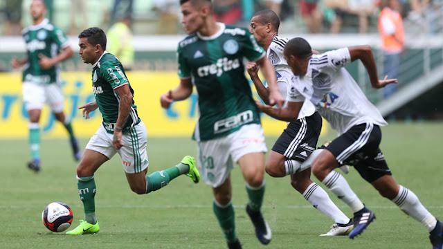 A Ponte Preta recebe o Palmeiras no Estádio Moisés Lucarelli, em Campinas, a partir das 16h. A Jovem Pan e a Globo/CBN transmitem a partida (Foto: Cesar Greco / Agência Palmeiras / Divulgação)