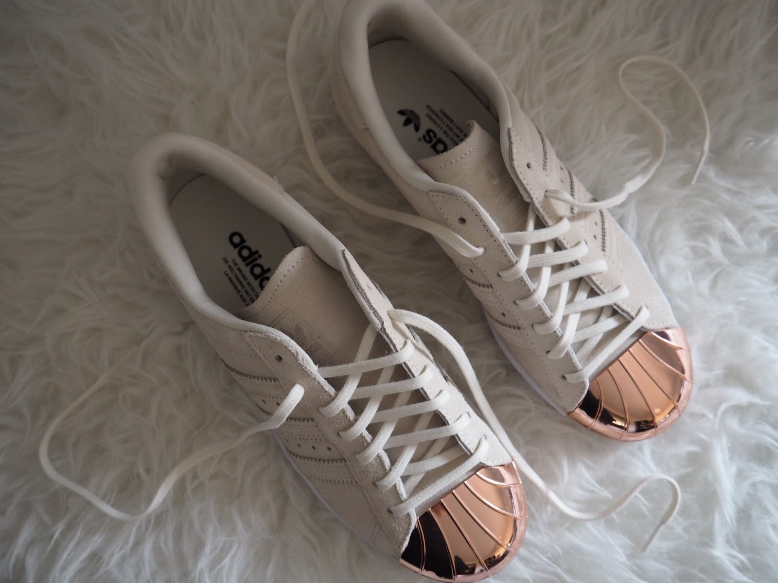 adidas trainers rose gold
