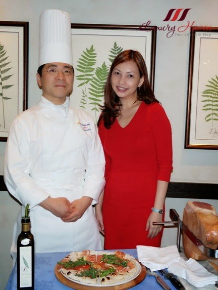 keio plaza duo fourchettes chef tomokuni luxury haven