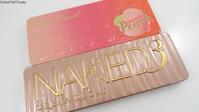 Too Faced Sweet Peach & Urban Decay Naked 3
