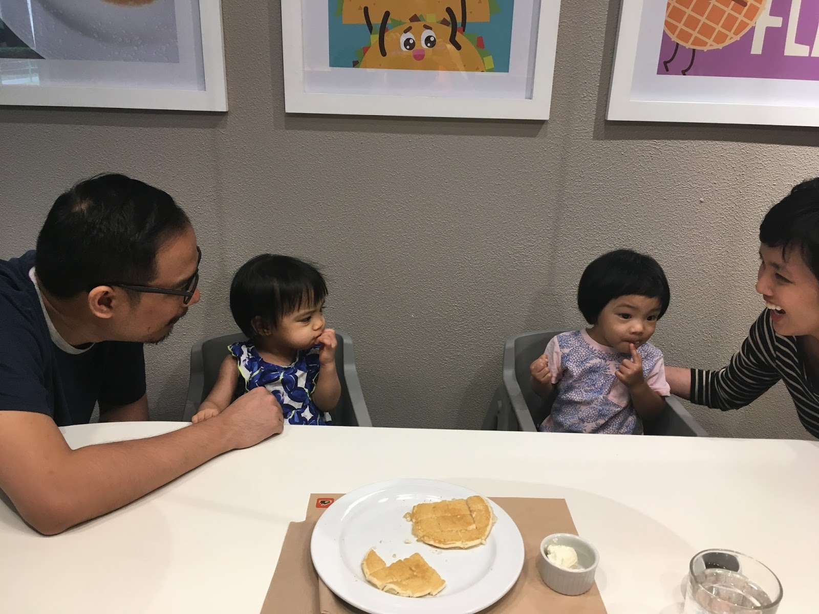eat out with toddlers