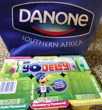 Danone South Africa branded Lunch-box with Yo-Jelly snacks