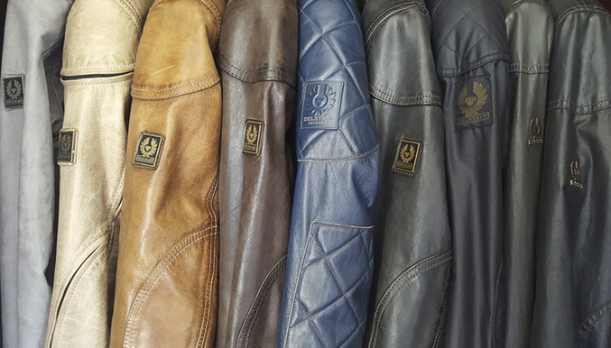 Belstaff leather waxed Jackets