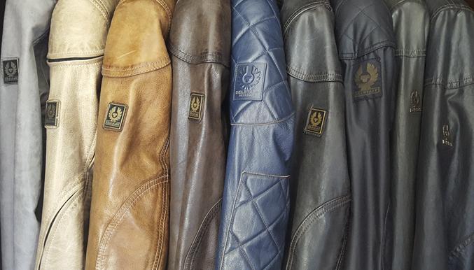 Belstaff leather waxed Jackets
