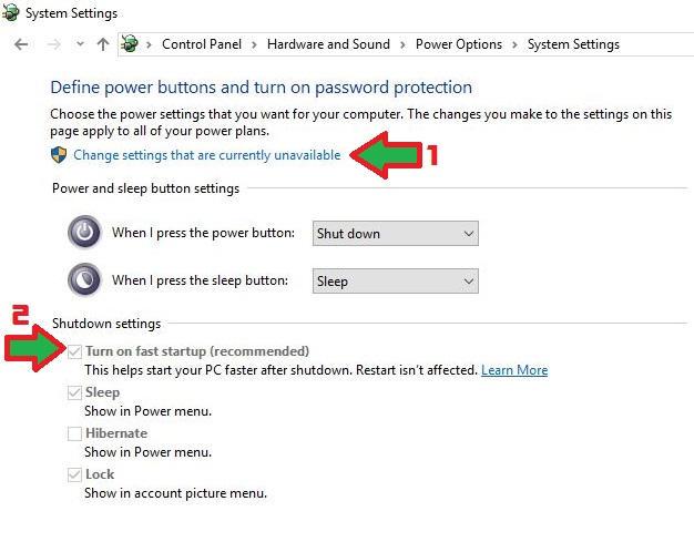 Cara Mematikan Fast Start Up di Windows 10