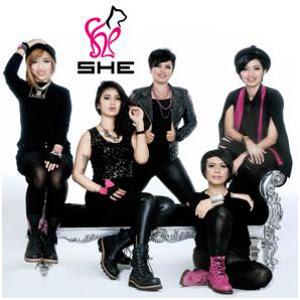 Lirik Lagu She - Apalah Arti Cinta