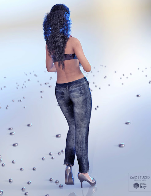 Just Real JeanZ for JeanZ for Genesis 3 Female and Male