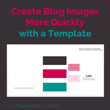 How do I create blog images more quickly? That's a question that many bloggers and online entrepreneurs ask. This post will help you find the answer you need! Plus you'll be set up in no time. Click through to see the simple trick and everything you need to be ready to go after just a little bit of upfront work.