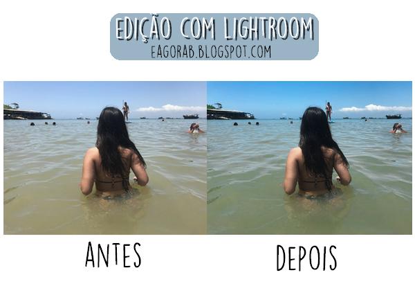 Edição de foto com Lightroom: Antes e depois