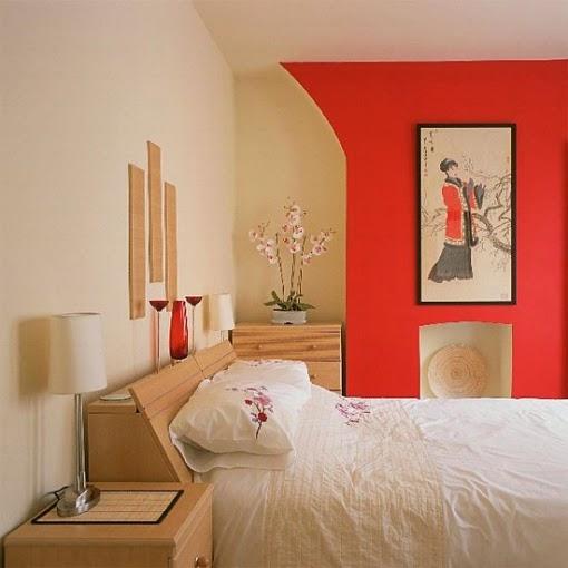 Fotos de dormitorios naranjas ideas para decorar dormitorios for Paredes naranja y beige