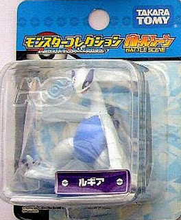 Lugia figure Tomy MC Battle Scene series