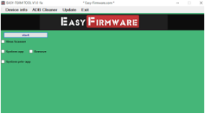 Easy-Team Tool (Firmware Tool) Latest Version (V2.2)