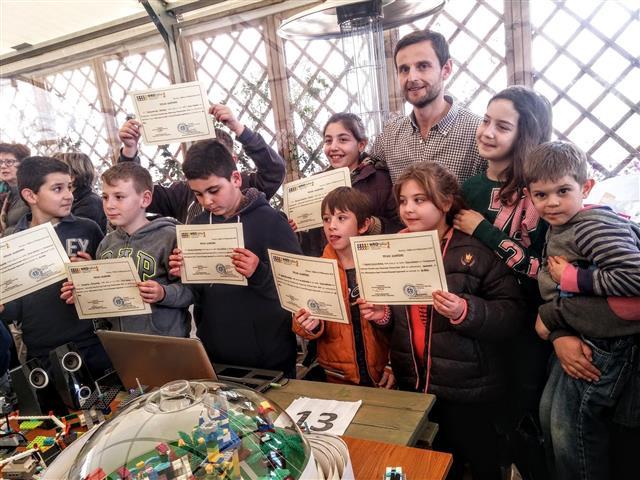 2η θέση για το Δημοτικό Σχολείο Βυτίνας στον Διαγωνισμό Ρομποτικής στο Ναύπλιο