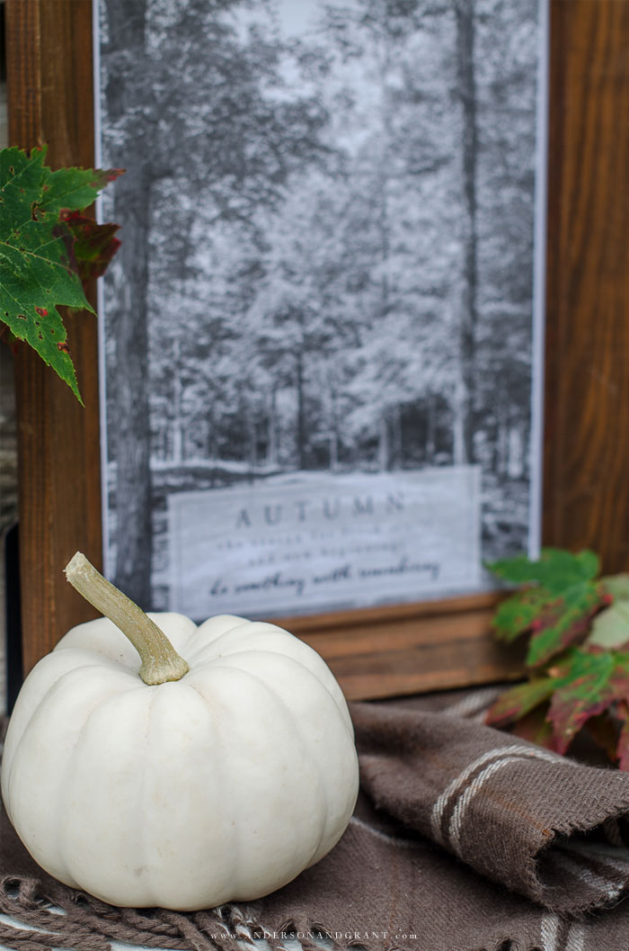 Starting Over in Fall Free Printable and vignette | www.andersonandgrant.com