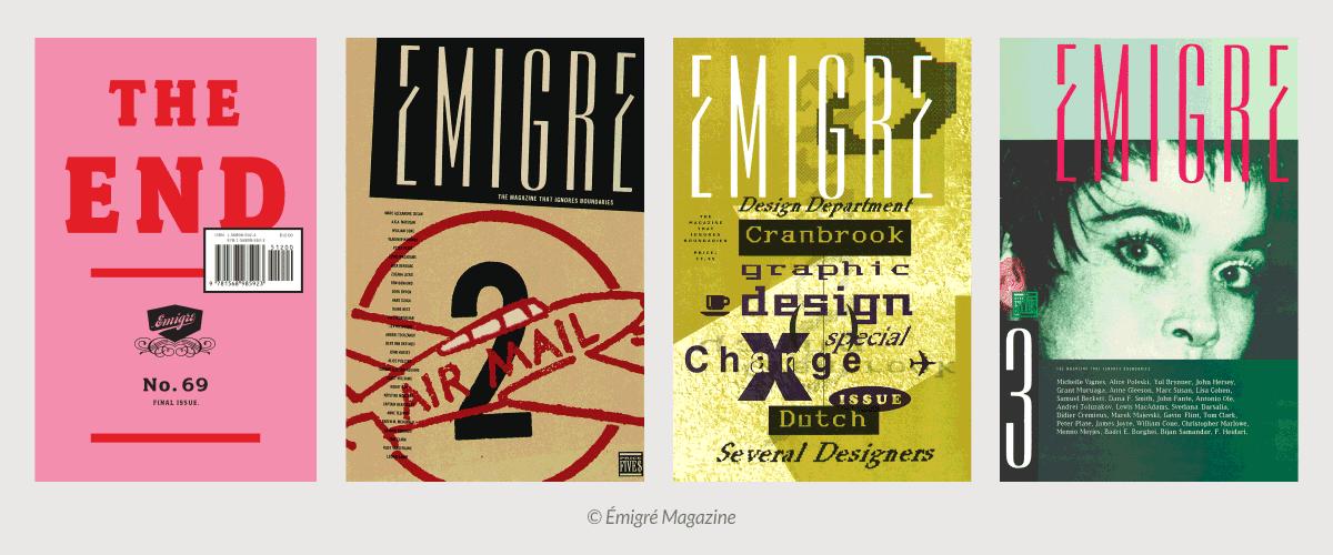 Peristiwa Penting Dalam Desain Grafis - Émigré (1984)