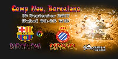 AGEN BOLA ONLINE TERBESAR - PREDIKSI SKOR LALIGA SPANYOL BARCELONA VS ESPANYOL 10 SEPTEMBER 2017