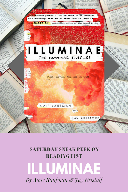 Illuminae by Amie Kaufman & Jay Kristoff a sneak peek on Reading List