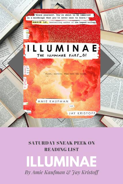 Illuminae by Amie Kaufman & Jay Kristoff a sneak peek on Reading List