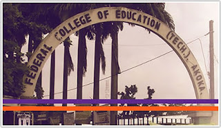 FCET Akoka (in Affiliation with UNIBEN) Degree Admission Form - 2018/2019