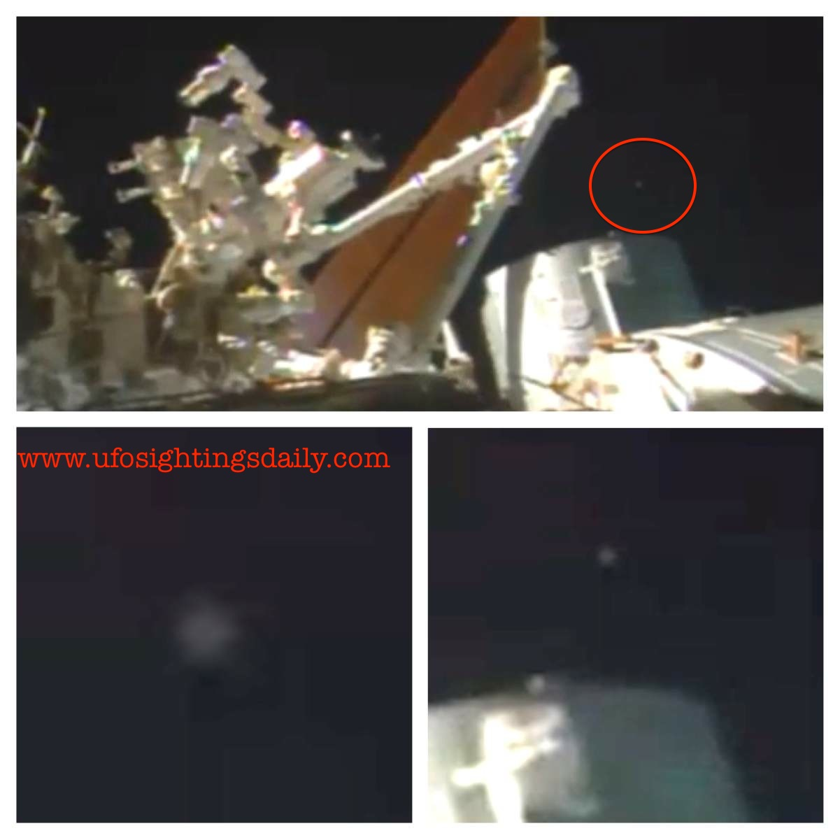 UFO SIGHTINGS DAILY: UFO Caught Near NASA's Space Station ...