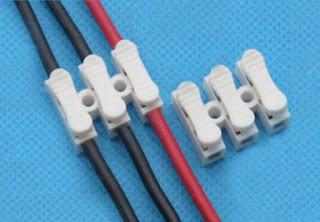 Penyambungan kabel dengan konektor