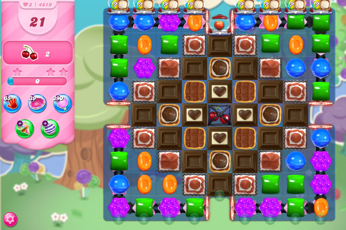 Candy Crush Saga level 4819