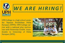 Lowongan Kerja UPH College Yayasan Pendidikan Pelita Harapan