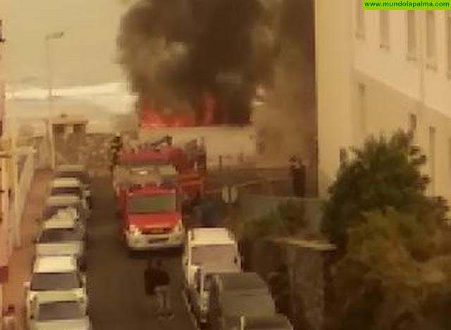 Arde una vivienda deshabitada en Santa Cruz de La Palma