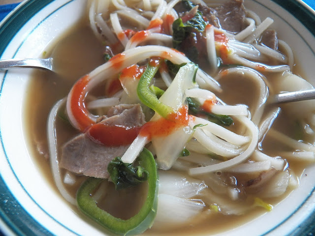 Beef Pho-style Soup for #SoupSaturdaySwappers