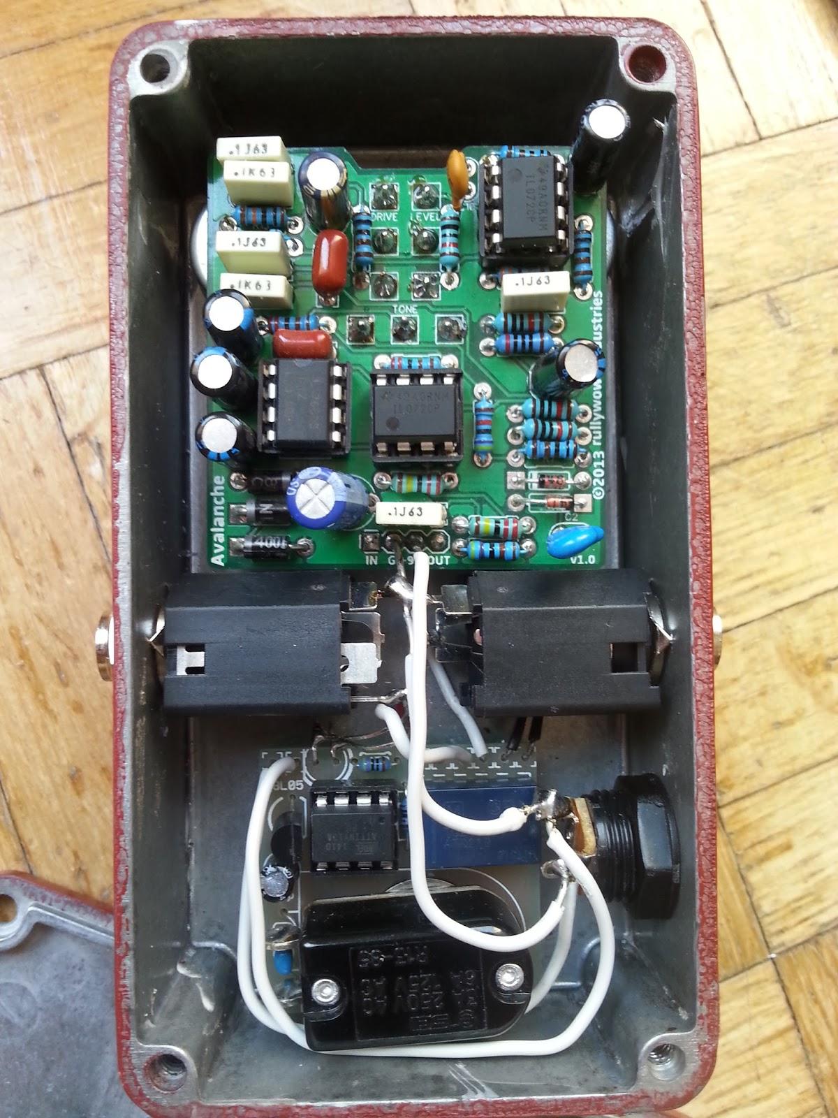 diy guitar pedal blog avalanche sov overdrive. Black Bedroom Furniture Sets. Home Design Ideas