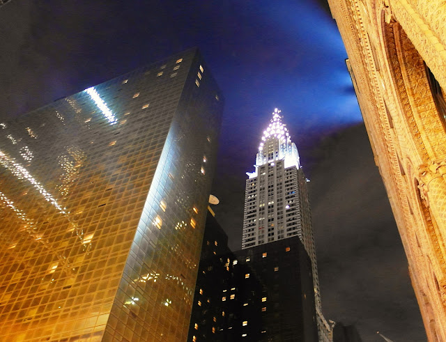 Chrysler Building by night, New York