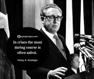 Motivational quote of the day by Henry A. Kissinger