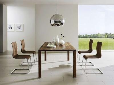 Muebles modernos Minimalistas: Comedores modernos minimalistas