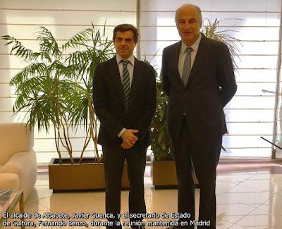 EL MINISTERIO DE CULTURA PODRÍA COLABORAR EN LA CELEBRACIÓN DEL CENTENARIO DE LA PLAZA DE TOROS DE ALBACETE