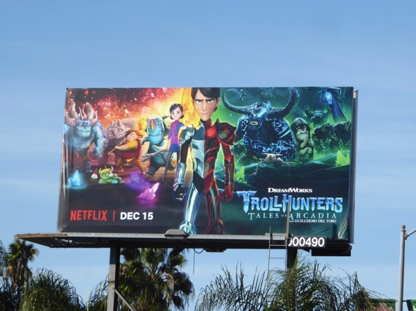 Trollhunters Tales of Arcadia season 2 billboard