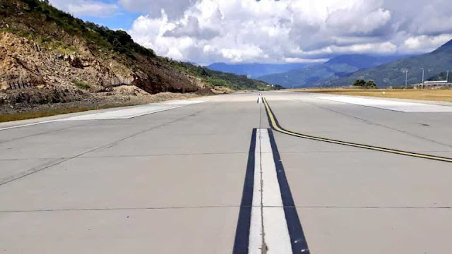 Pakyong Airport in Sikkim Situated around 60 km from India-China border