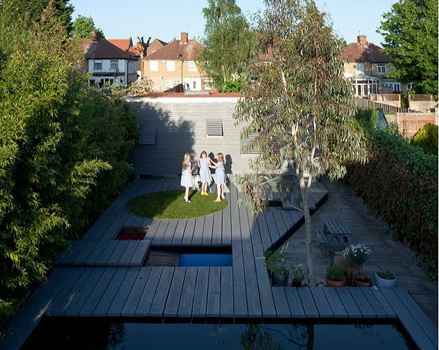 Modern London Suburban Studio With Sedum Roof And Heated